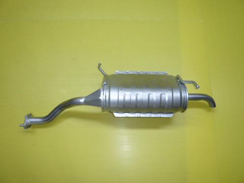 純正タイプ リヤマフラー MSS-9182SUS(マツダ,スクラム,DG63T)車検対応、ガスケット付