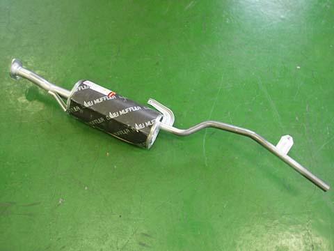 純正タイプ リヤマフラー MSS-9164(マツダ,スクラム,DJ51T)車検対応、ガスケット付