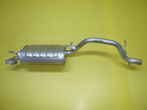 純正タイプ リヤマフラー MSS-9180SUS(マツダ,AZワゴン,MJ21S)車検対応、ガスケット付