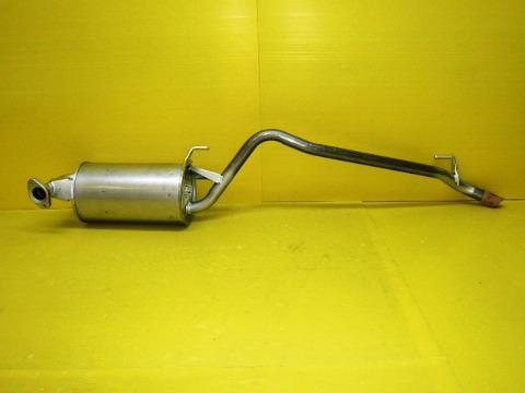 純正タイプ リヤマフラー MTO-1558SUS(トヨタ,サクシード,NCP55V,NCP59G)車検対応、ガスケット付