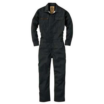 GRACE ENGINEER'S(グレースエンジニアーズ)メンズ長袖つなぎ GE-517 チャコール