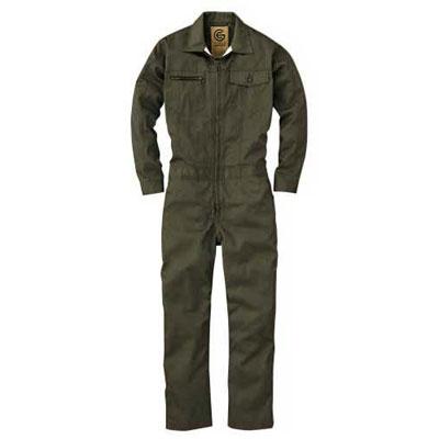 GRACE ENGINEER'S(グレースエンジニアーズ)メンズ長袖つなぎ GE-517 オリーブ