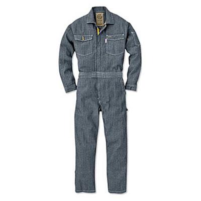 GRACE ENGINEER'S(グレースエンジニアーズ)メンズ長袖つなぎ GE-106 ヘリンボン