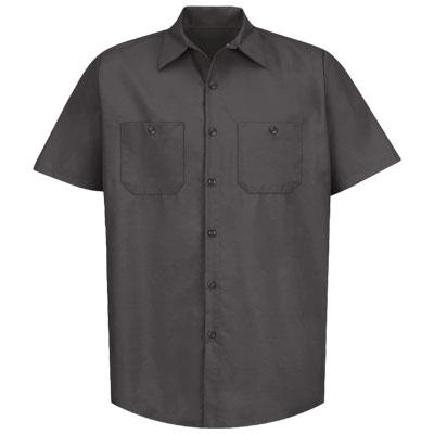 REDKAP(レッドキャップ)インダストリアルワークシャツ(半袖) チャコール
