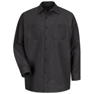 REDKAP(レッドキャップ)インダストリアルワークシャツ(長袖) ブラック