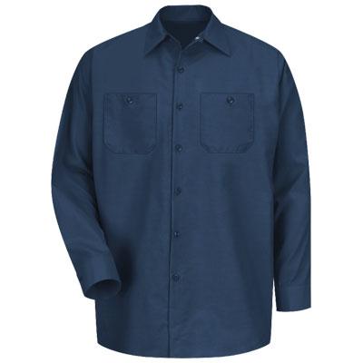 REDKAP(レッドキャップ)インダストリアルワークシャツ(長袖) ネイビー