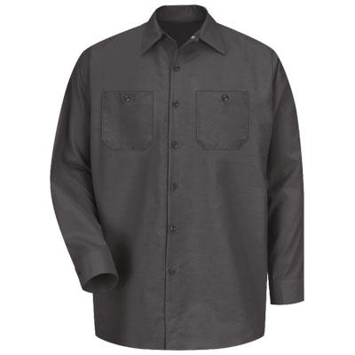 REDKAP(レッドキャップ)インダストリアルワークシャツ(長袖) チャコール