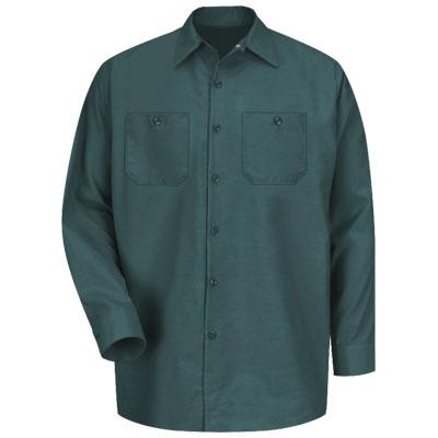 REDKAP(レッドキャップ)インダストリアルワークシャツ(長袖) スプルースグリーン