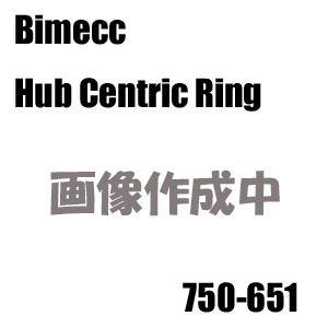Bimecc(ビメック)外車用ハブリング(ハブセントリックリング) 750-651