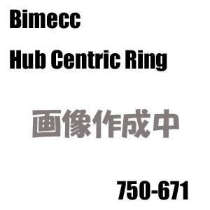Bimecc(ビメック)外車用ハブリング(ハブセントリックリング) 750-671