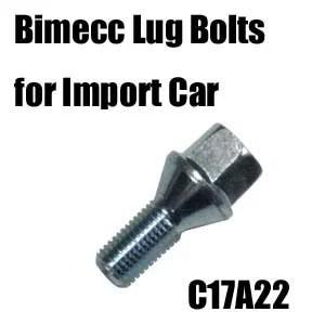 Bimecc(ビメック)外車用ホイールボルト C17A22