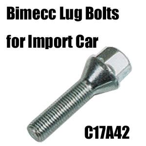 Bimecc(ビメック)外車用ホイールボルト C17A42