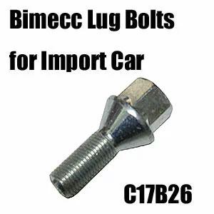 Bimecc(ビメック)外車用ホイールボルト C17B26