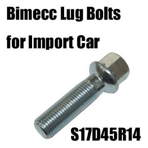 Bimecc(ビメック)外車用ホイールボルト S17D45R14