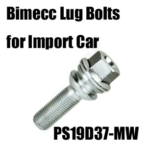 Bimecc(ビメック)外車用ホイールボルト PS19D37-MW