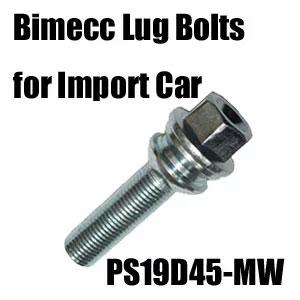 Bimecc(ビメック)外車用ホイールボルト PS19D45-MW
