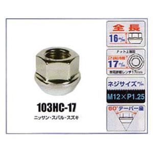 KYO-EI(協永産業)貫通ナット【103HC-17】17mm,M12×P1.25