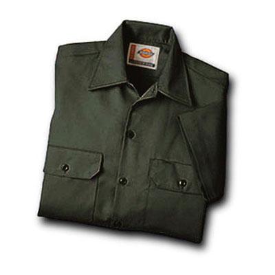 Dickies(ディッキーズ)ワークシャツ ショートスリーブ<半袖> オリーブグリーン