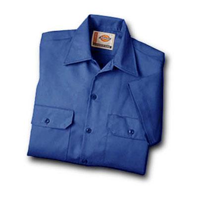 【取寄限定カラー】Dickies(ディッキーズ)ワークシャツ ショートスリーブ<半袖> ロイヤルブルー
