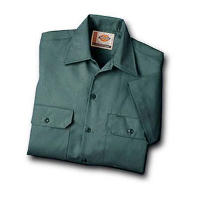 【取寄限定カラー】Dickies(ディッキーズ)ワークシャツ ショートスリーブ<半袖> リンカーングリーン
