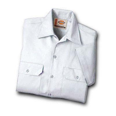 【取寄限定カラー】Dickies(ディッキーズ)ワークシャツ ショートスリーブ<半袖> ホワイト