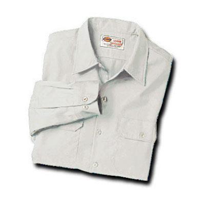 【取寄限定カラー】Dickies(ディッキーズ)ワークシャツ ロングスリーブ<長袖> ホワイト