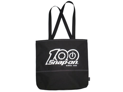 Snap-on(スナップオン)トート「100th BLACK TOTE BAG」