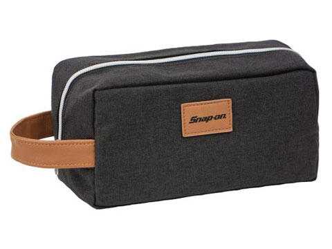 Snap-on(スナップオン)ポーチ「CHARCOAL TOILETRY BAG」
