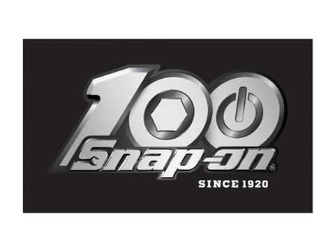Snap-on(スナップオン)ステッカー「100th BLACK DECAL」