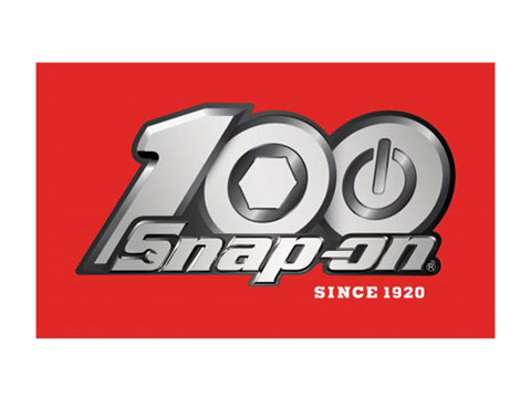Snap-on(スナップオン)ステッカー「100th RED DECAL」