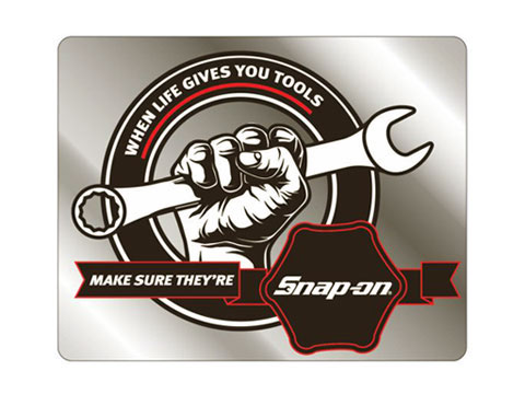 Snap-on(スナップオン)ステッカー「WHEN LIFE GIVES YOU TOOLS DECAL」