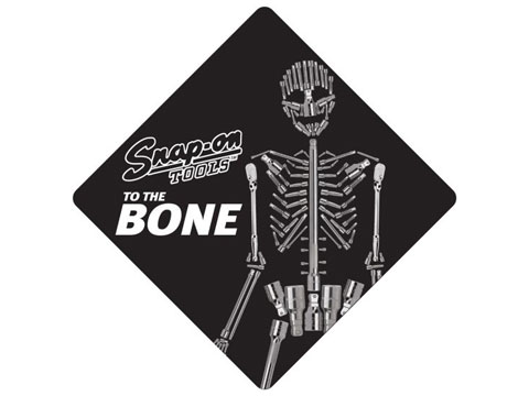 Snap-on(スナップオン)ステッカー「TO THE BONE DECAL」