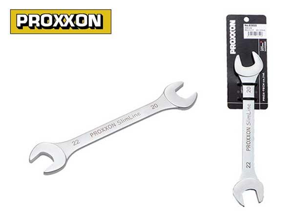 PROXXON(プロクソン)薄口両口スパナ,スリムライン,20×22mm【No.83850】