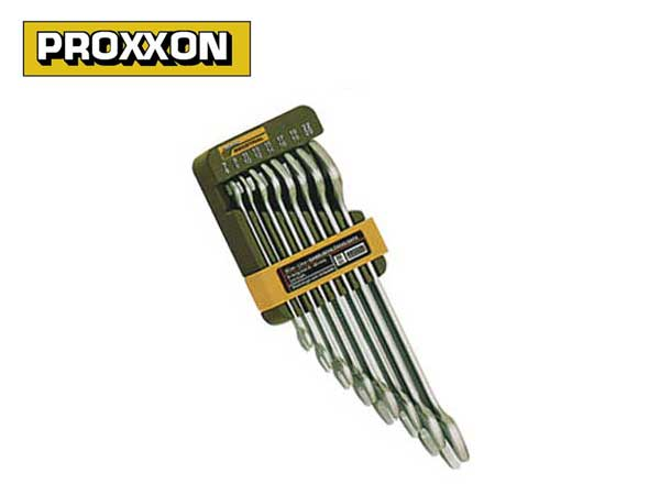 PROXXON(プロクソン)薄口両口スパナ8点セット,スリムライン【No.83800】