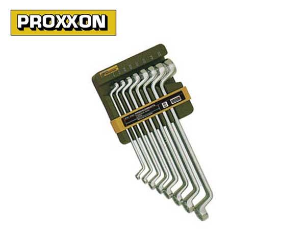 PROXXON(プロクソン)メガネレンチ8点セット,スリムライン【No.83810】