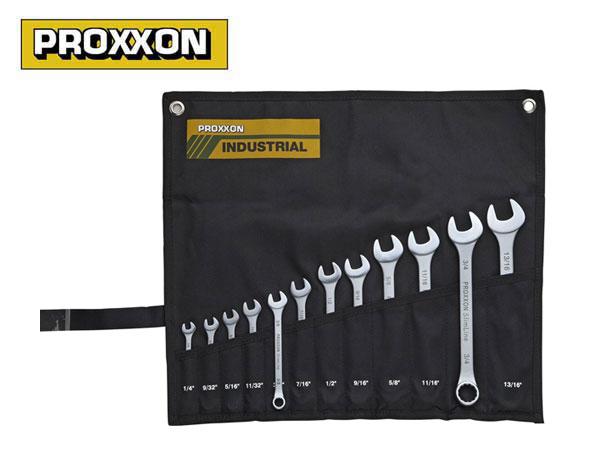 PROXXON(プロクソン)コンビネーションレンチ12点セット,スリムライン,インチサイズ【No.83816】