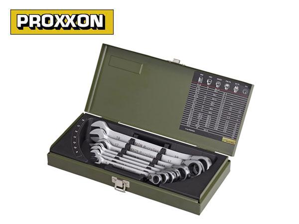 PROXXON(プロクソン)マイクロ・スピーダー,ギヤレンチ,コンビレンチ,7点セット【No.82152】