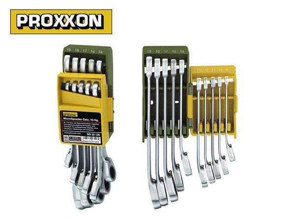 PROXXON(プロクソン)マイクロ・スピーダー,ギヤレンチ,コンビレンチ,10点セット【No.83126】