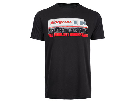 Snap-on(スナップオン)ティーシャツ「IT'S A TECHNICIAN THING BLACK TEE」
