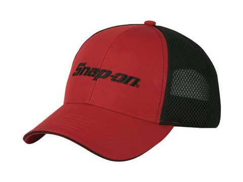 Snap-on(スナップオン)メッシュキャップ「FOAM MESH CAP - RED / BLACK」