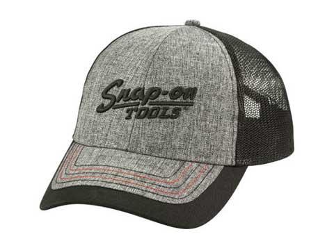 Snap-on(スナップオン)メッシュキャップ「TWEED BLACK MESH BACK CAP」