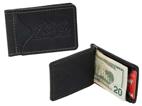 Snap-on(スナップオン)マネークリップ「100th BLACK RUSTICO WALLET / CLIP」
