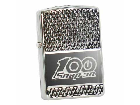 Snap-on(スナップオン)ジッポライター「ZIPPO 100th DEEP CARVE ARMOR LIGHTER」
