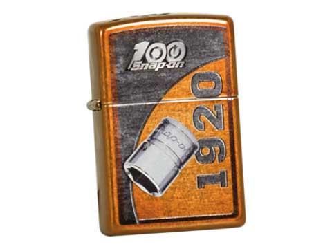 Snap-on(スナップオン)ジッポライター「ZIPPO 100th SOCKET LIGHTER」