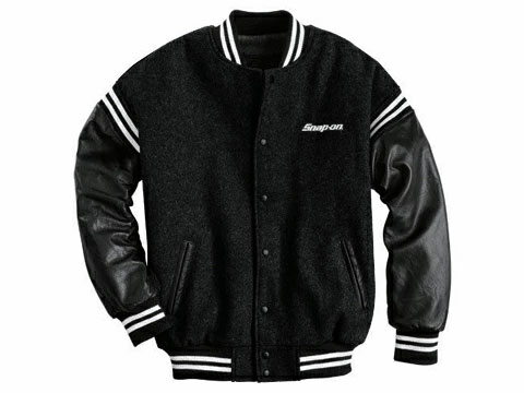 Snap-on(スナップオン)ジャケット「VARSITY WOOL AND LEATHER JACKET」