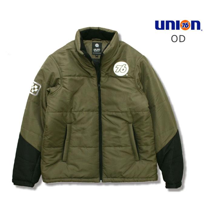 76Lubricants(ユノカル,ユニオン,ナナロク)サーモライト防寒ジャケット,オリーブドラブ