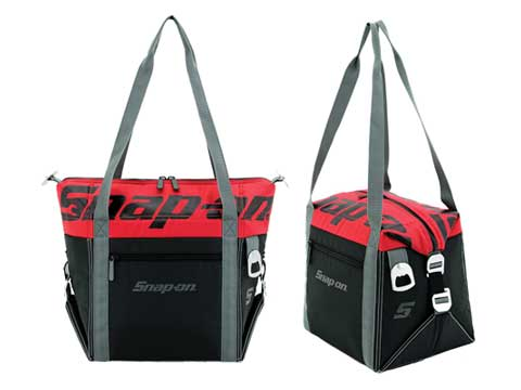 Snap-on(スナップオン)クーラーバッグ「BLACK / RED 18-CAN CONVERTIBLE LUNCH COOLER」