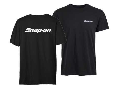 Snap-on(スナップオン)ティーシャツ「BASIC BLACK TEE」