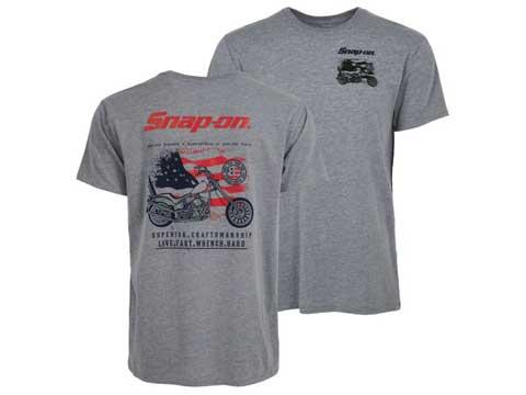 Snap-on(スナップオン)ティーシャツ「GRAY CRAFTSMANSHIP TEE」