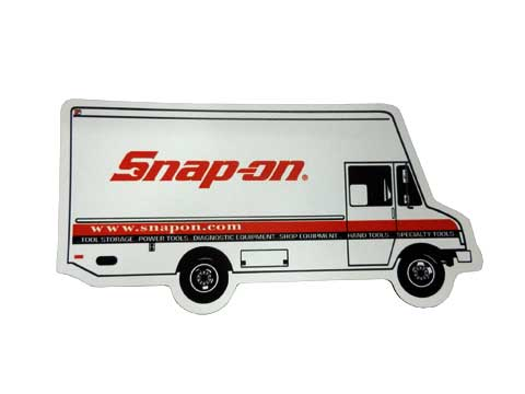 Snap-on(スナップオン)マグネット「SNAP-ON TOOL VAN MAGNET」